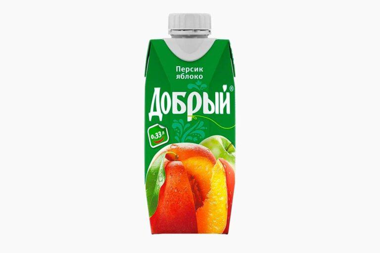 Сок Добрый персик 0,33л
