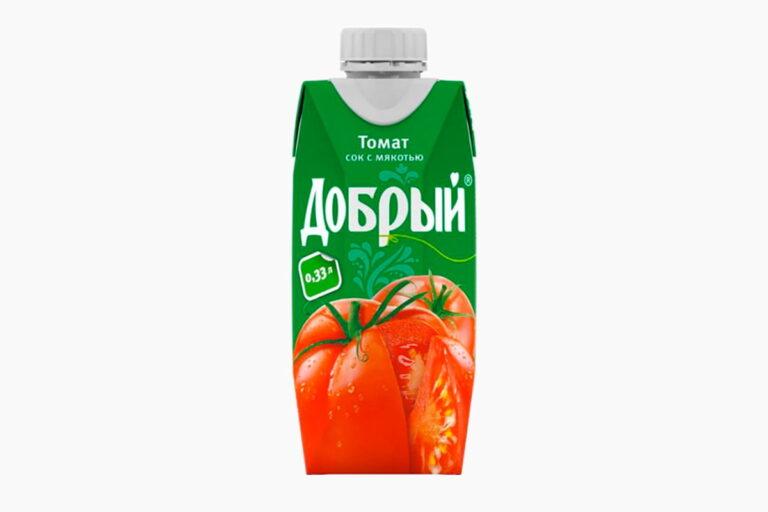 Сок Добрый томат 0,33л