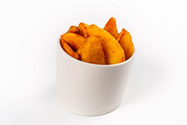 Картофель Айдахо с кетчупом